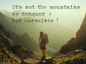 Quotes About Mountains For inspirational quotes