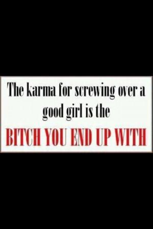 Karma...yup