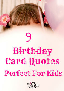 Birthday Card Quotes Perfect for Kids