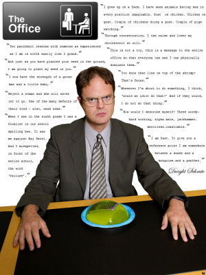 Best Dwight K Schrute Quotes
