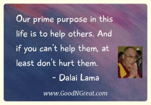 Dalai Lama Stress Quotes