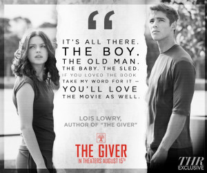 The Giver' Poster Assures That Lois Lowry Likes the Movie