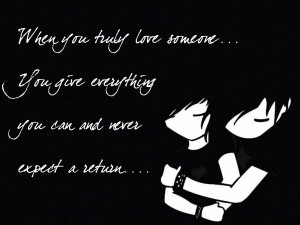 Emo Love Quotes Wallpaper