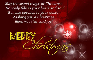 New Christmas Greetings And Wishes Collection For 2015
