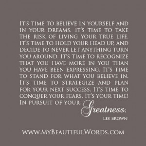 Your Greatness...