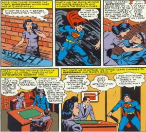 ... we have pretty much introduced a new status quo for Superman comics