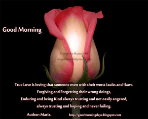 Good Morning Thoughts for 09-06-2010( Love Special)