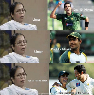Pakistani cricket fans celebrate victory with funny meme & cartoons