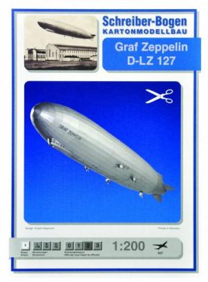 Schreiber-Bogen-Graf-Zeppelin-D-LZ-127-Card-Model-0