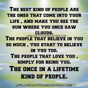 The best kind of people..