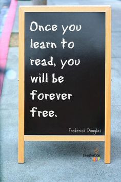 Frederick Douglas on reading -- Favorite Reading Quotes from ...