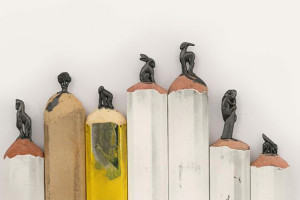These Pencil Tip Sculptures are Amazingly Intricate