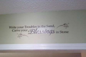 ... ! Decluttered, re-organized, diy renos! *New Pics: WALL QUOTES MANIA