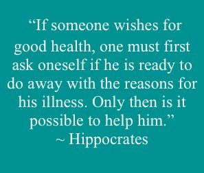 ... Hippocrates. The emotion code is great at finding any emotional
