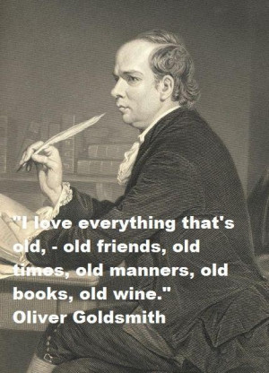 Oliver goldsmith quotes 3