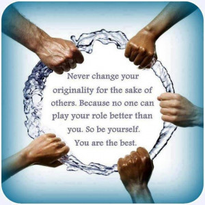 Don't Change Yourself - Thoughtfull quotes Picture