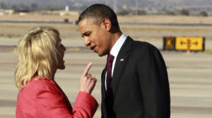 Arizona Gov. Jan Brewer Points Her Finger in The President's Face ...