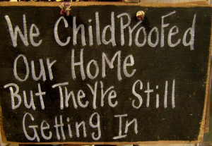 SS-94 We Childproofed our home but they're still getting in sign