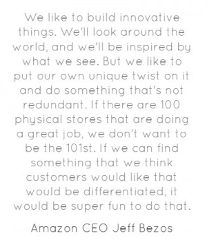 Amazon CEO Jeff Bezos on #Innovation