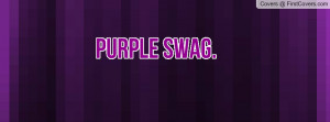 Purple Swag Profile Facebook Covers