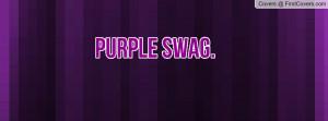 Purple Swag Profile Facebook Covers