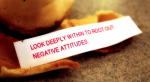 ... eat Chinese food, but when you get to the cookie just let it crumble