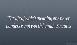 Socrates Quotes On Life
