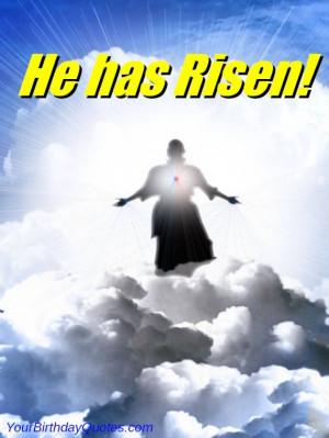 Easter Sunday – Christ Jesus Has Risen