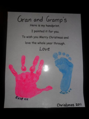 Hand And Footprint Poems