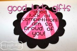 how to wish good luck dance competition