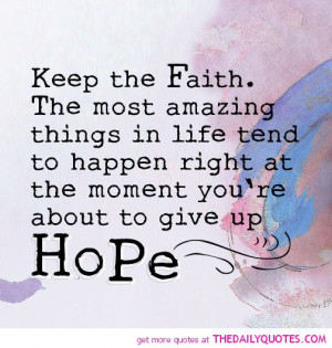 hope quotes sayings hope quotes and sayings life quotes sayings ...