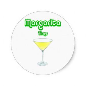 Funny Margarita Stickers