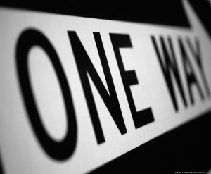 One Way: follow Christ