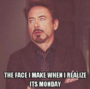 The face you make ... Haha!