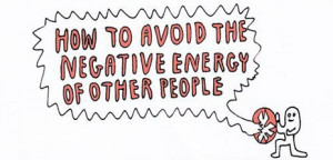 how to avoid negative energy