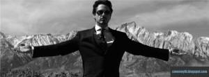 Tony Stark Class Facebook Cover