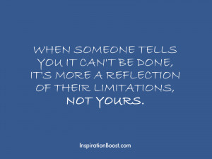 Limitations Quote