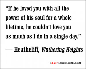 quotes quote Wuthering Heights Healthcliff Emily Bronte