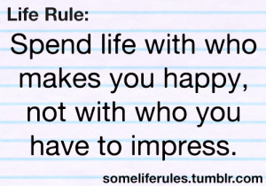 Some Life Rules