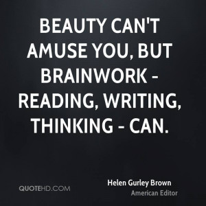 Helen Gurley Brown Beauty Quotes