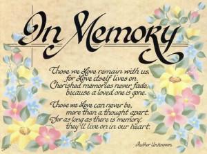 Memorial Quotes