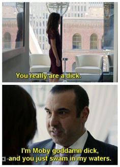 Louis Litt - this show would be nothing without him!