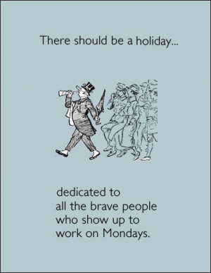We Need A New Holiday