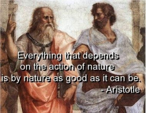 Aristotle quotes and sayings meaningful nature wise