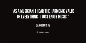 Hear the Music Quote