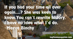 Favorite Maeve Binchy Quotes