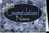 Graduation Cards for Niece