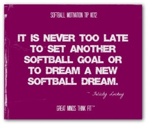softball team quotes
