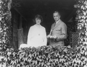 Florenz Ziegfeld and Billie Burke