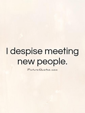 quotes about meeting people